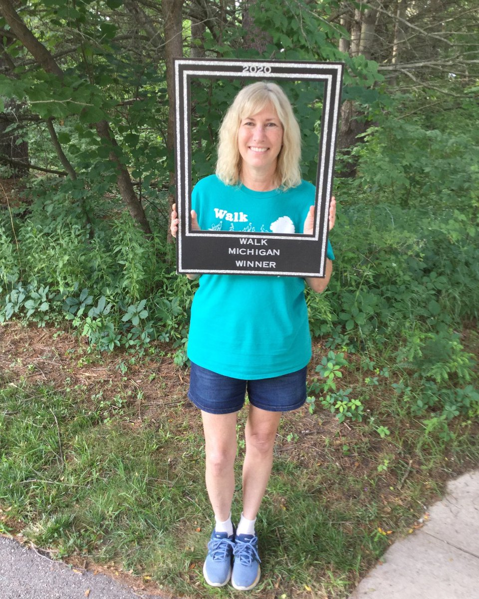 Congrats to Cindy James, the 2020 winner of Walk Midland. We had a record number of walkers this year at 1228! Thanks to  our sponsors and all who came out to walk with us. See you in 2021! #walkmidland