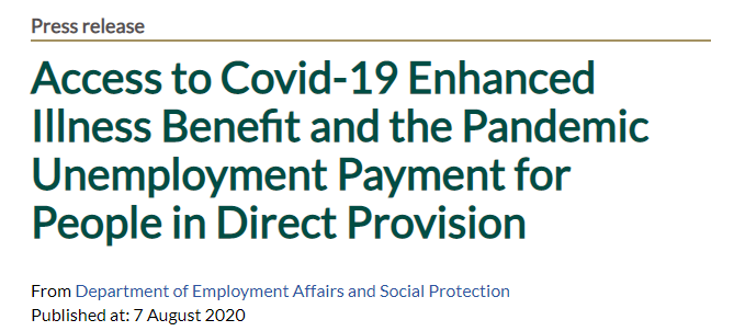 Minister @HHumphreysFG reassures workers who have been diagnosed with #COVID19, or are certified by a medical doctor to self-isolate because they are a probable source of #COVID__19, that the Enhanced Illness Benefit is available to them  Read more here:
