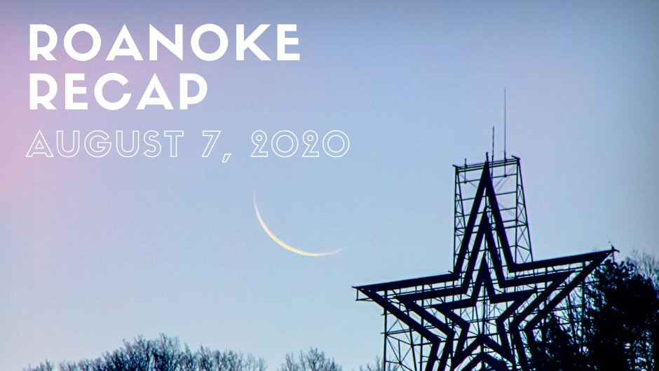 """For news highlights from the City of Roanoke, check out this week's """"Roanoke Recap"""" blog. Click the following link to read the blog:"""