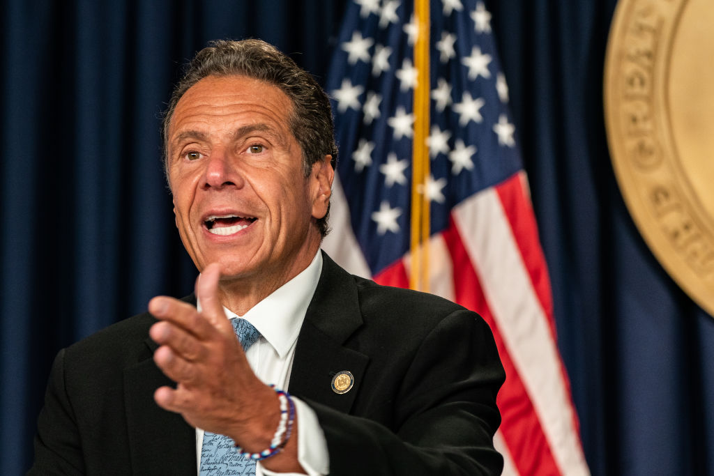 """JUST IN - Governor Andrew Cuomo clears New York schools to open statewide - with strict guidelines.  """"Everywhere in the state, every region is below the threshold that we established."""""""