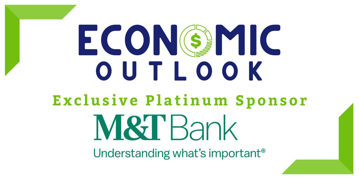 A very special thank you to @MandT_Bank for being our Exclusive Platinum Sponsor for the Economic Outlook! Join us and our expert speaker from the @USChamber to uncover insights about what to expect in our economic futures post-pandemic.   Learn more @ .