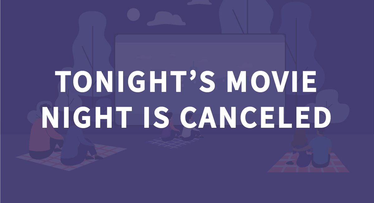 Tonight's showing of Black Panther is canceled due to inclement weather. #Harrisburg