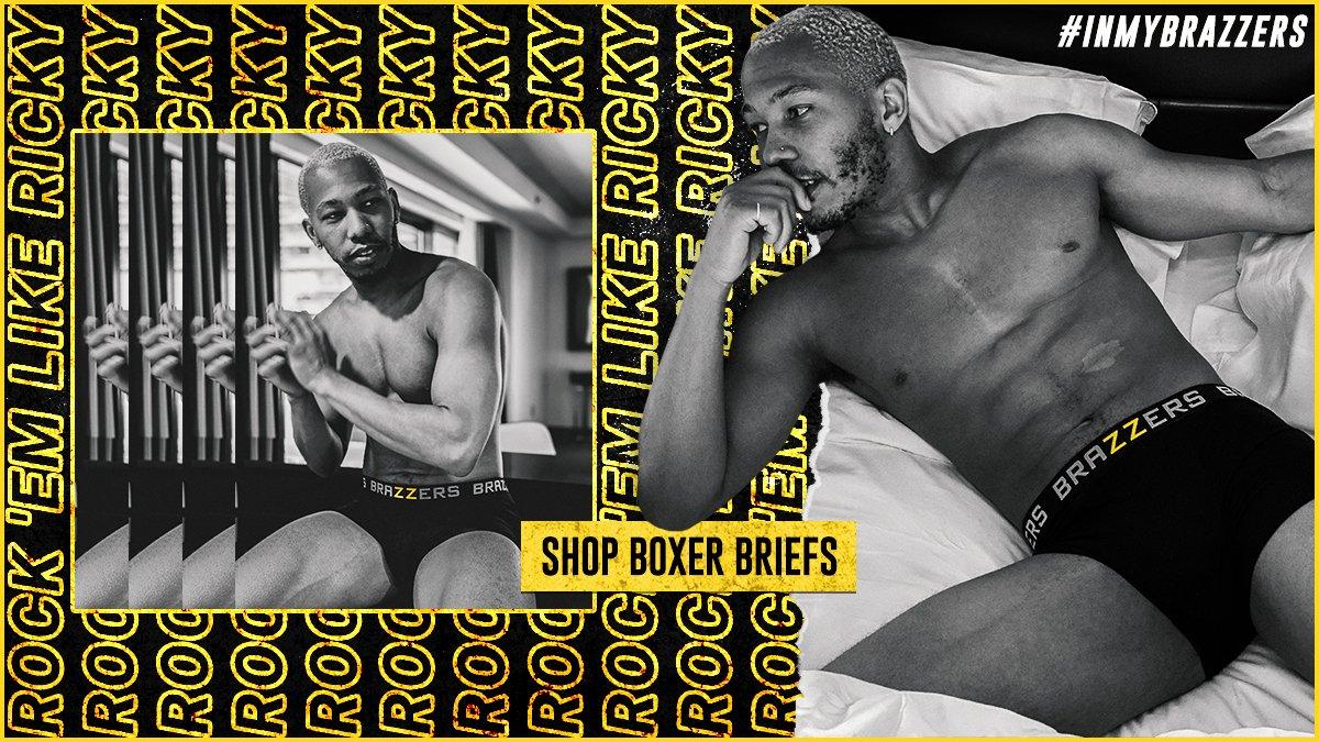 Rock 'em like Ricky ⚡ Shop boxer briefs 👉  @Rickybehavior#TheBrazzersStore #InMyBrazzers