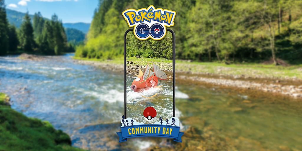 test ツイッターメディア - お住まいの地域で「Pokémon GO コミュニティ・デイ」が始まりました!さあ、さかなポケモンの「コイキング」をつかまえましょう!運が良ければ色違いの「コイキング」に出会えるかもしれません! #PokemonGOCommunityDay #ポケモンGO https://t.co/hletVoVo8y