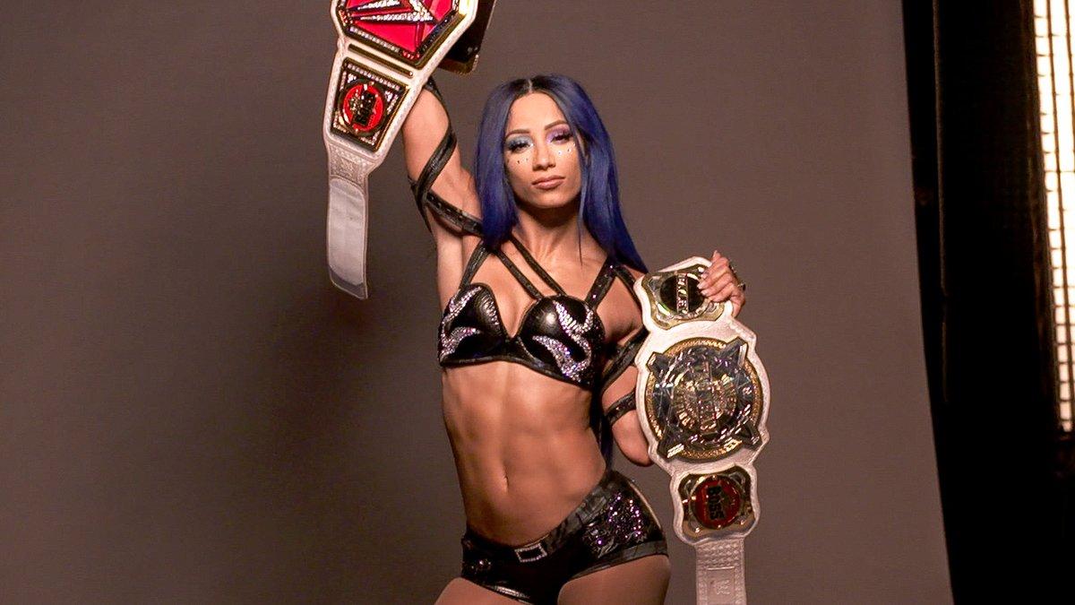 New Splash Photo from WWE's Website #SashaBanks #2BeltzBanks