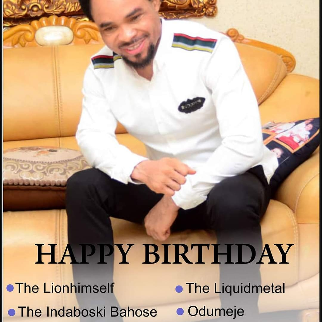 Happy cake day sir @prophetchukwuemeka ohanemere the lion he sife