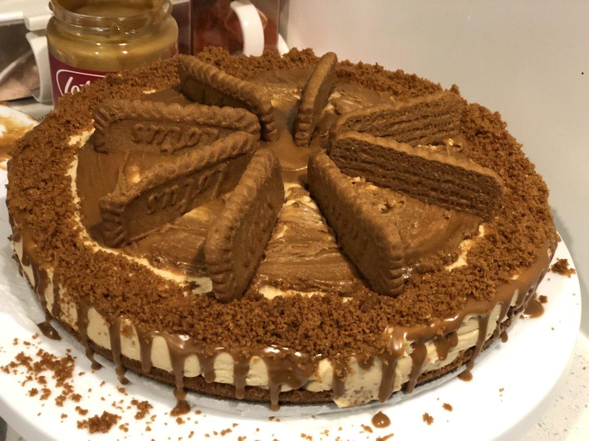 Happy baking #LotusCheeseCake