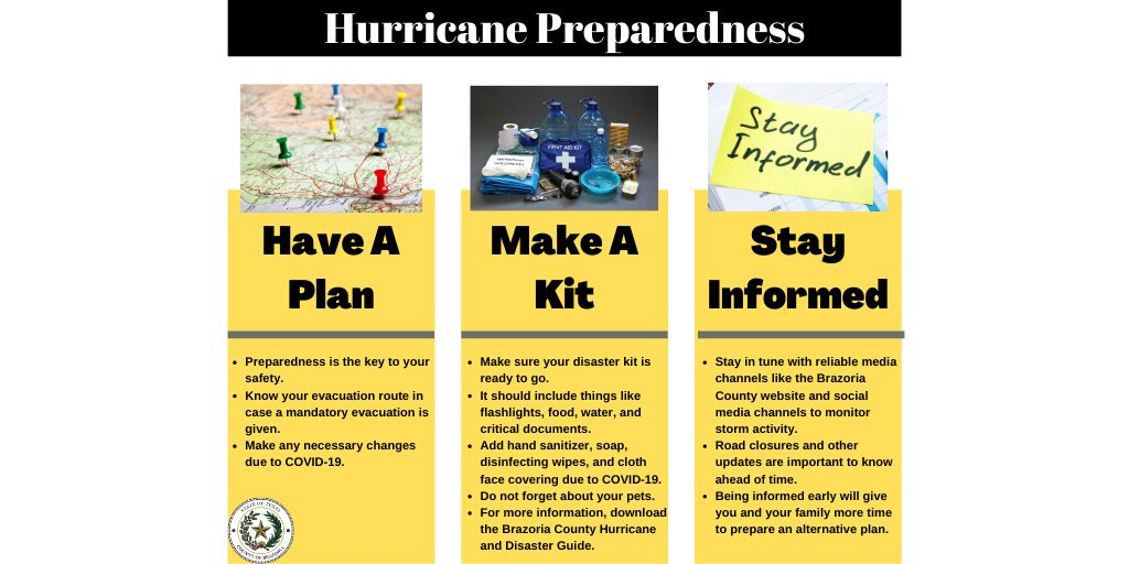 Hurricane Season🌀 is heating up. Make sure you are prepared.