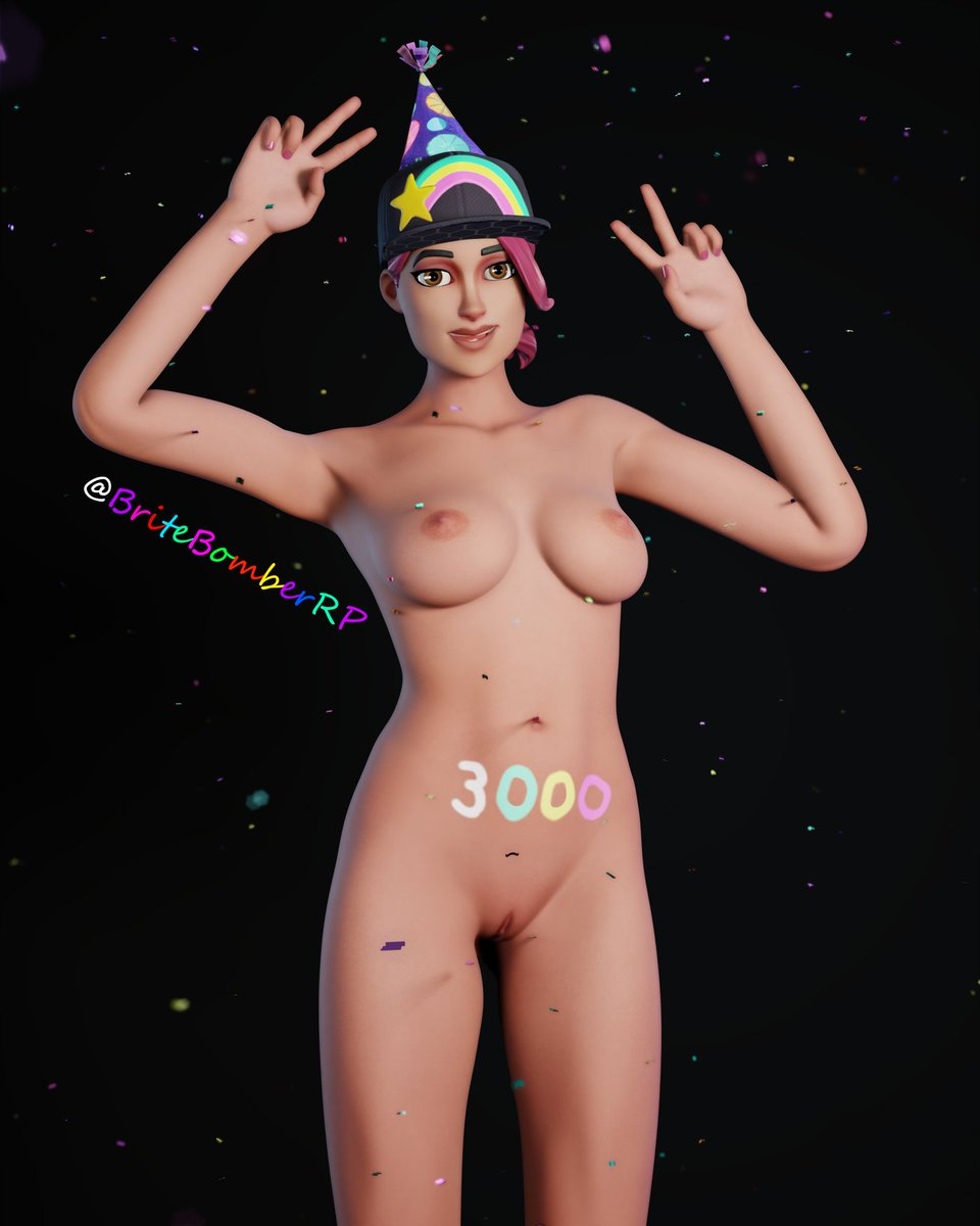 Hey I just hit the 3.000 Followers on Twitter i'm so proud and happy about that thank you guys, Thank you so much for that big number!❤🥳 Special Thanks goes to @The_Lewdrex without her amazing Models I wouldnt be here today.🥳 @GhoulyNsfw Love you💋💚