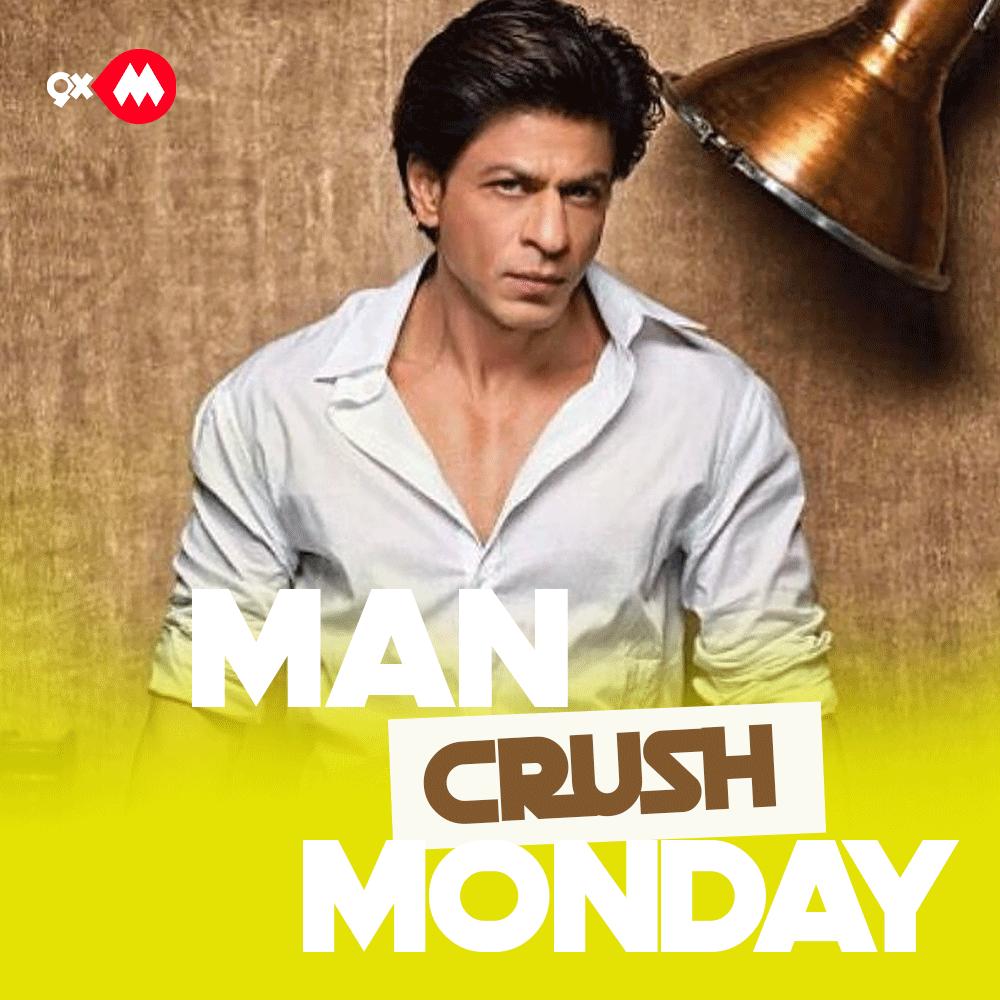 Tujhme Crush dikhta hai yaara main kya karun! 😍 @iamsrk #MCM #ShahRukhKhan #SRK