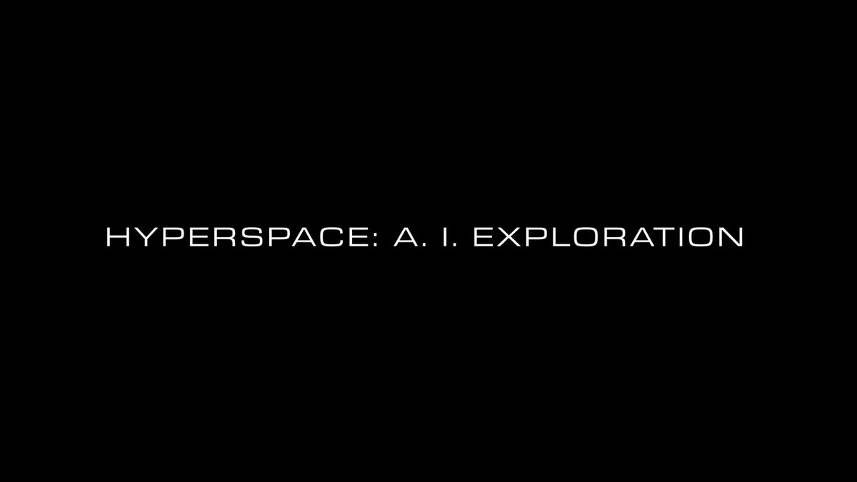 HYPERSPACE: A. I. EXPLORATION IN COLLABORATION WITH @NASAJPL COMING AUGUST 12th     #Hyperspace2020