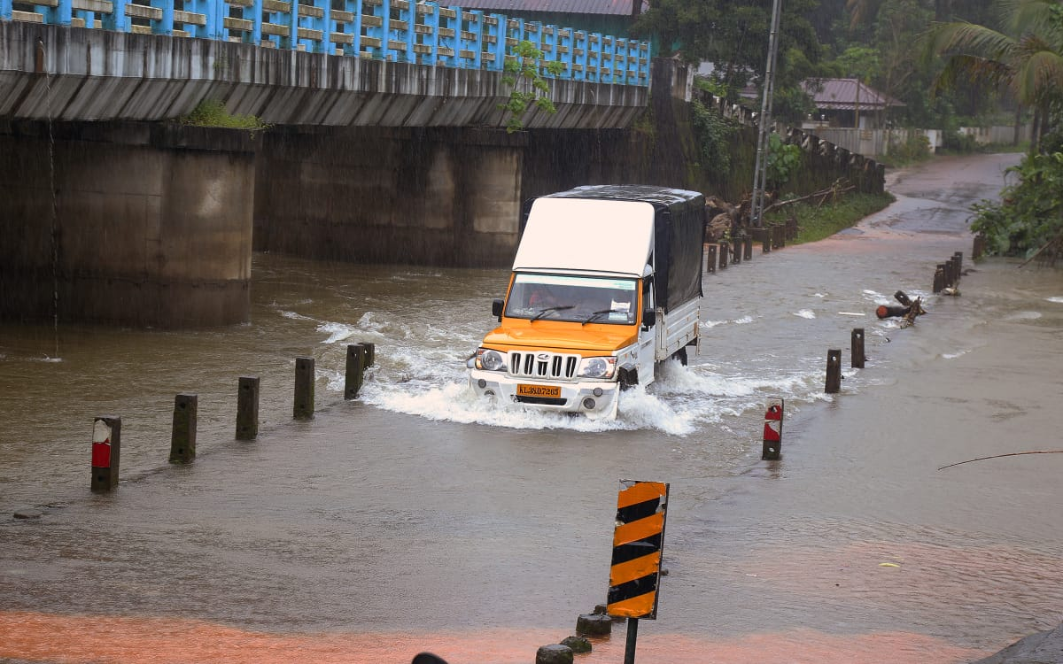 #Keralafloods | Heavy rain will continue for another two days.  #Report N C Jayachandran