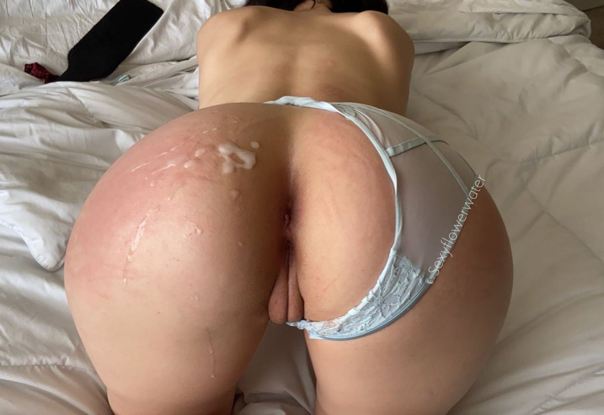 Cum always looks so nice on a red ass ❤️