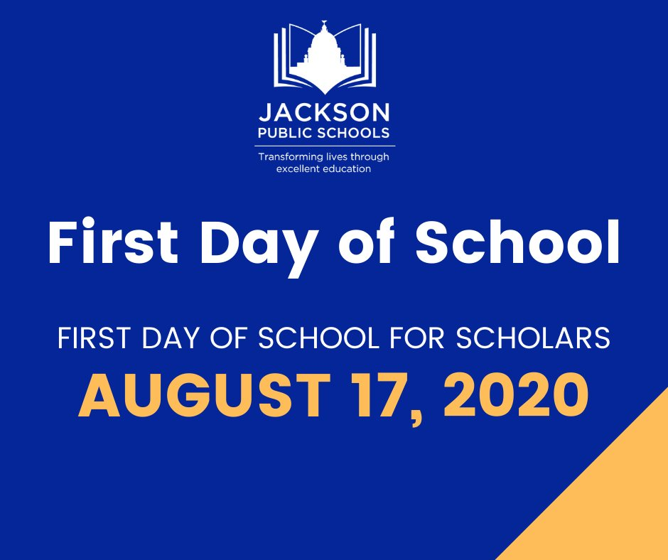 The first day of school for JPS scholars will be Monday, August 17. View our updated calendar at .