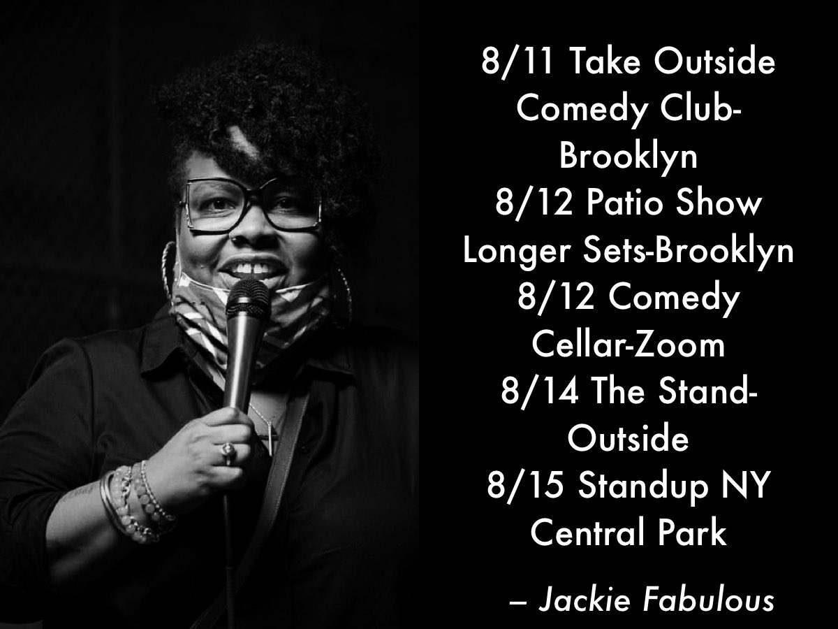 Just let me have this! It's a thing with me that I have to fill my birthday week with performing AUGUST 12th is my BIRTHDAY! #jackiefabulous