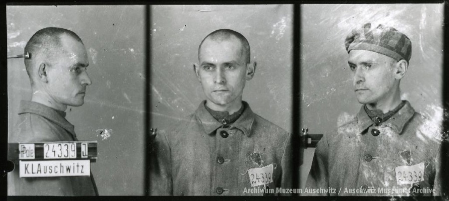 9 August 1912 | Polish Jew Leiser Rubinfeld was born in Czudec. A weaver.  In #Auschwitz from 12 December 1941. No. 24339  He perished in the camp on 3 March 1942.