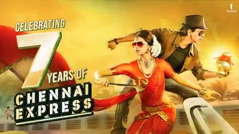 Board this train of memories, and celebrate #7YearsOfChennaiExpress with us. Ready. Steady. Po! 🚆  @iamsrk @deepikapadukone @nikitindheer #RohitShetty