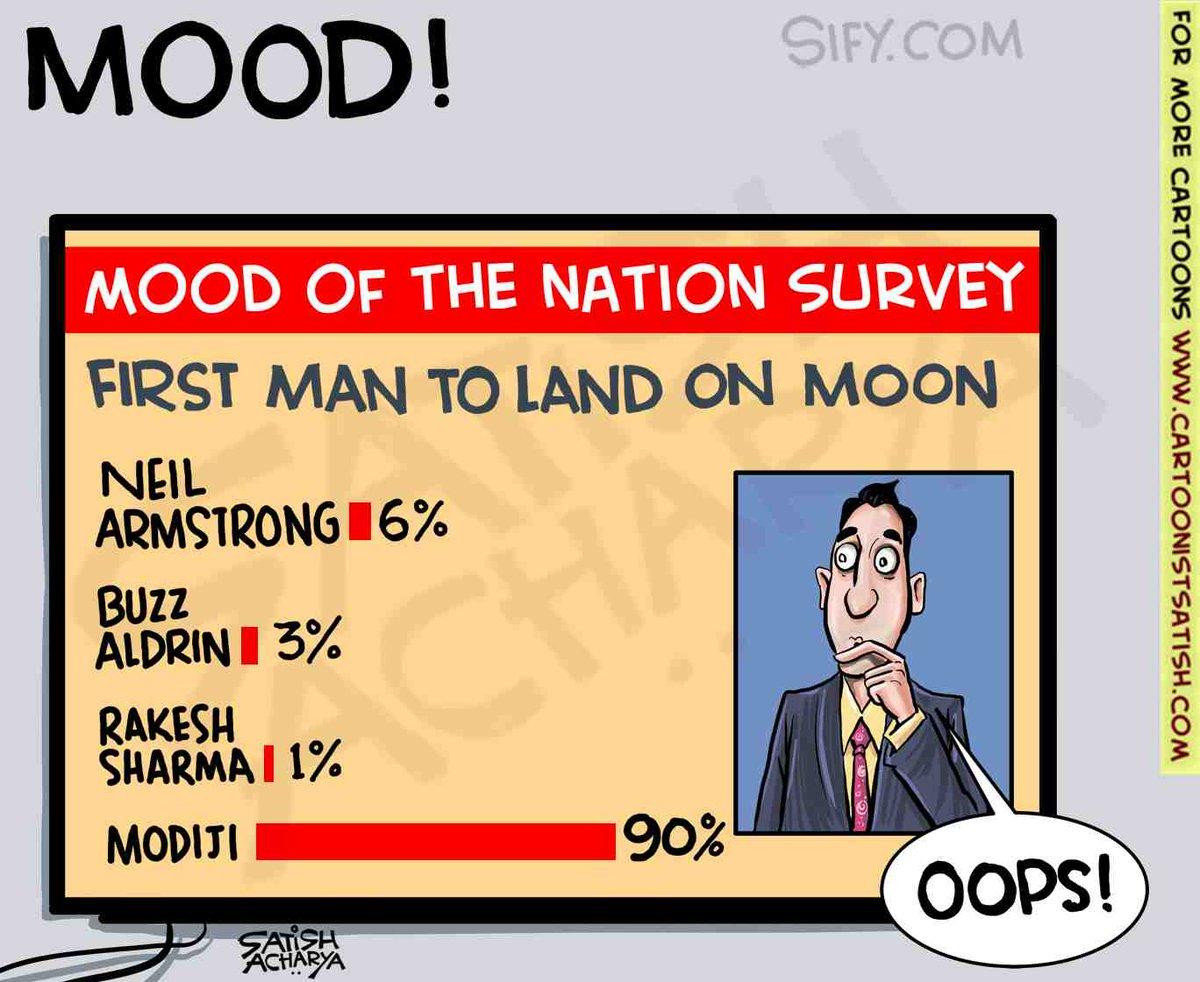 PM Modi's popularity escalates! @sifydotcom cartoon #MoodOfTheNation