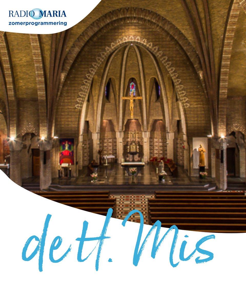 test Twitter Media - De H. Mis zal niet ontbreken, in de zomer is elke dag de Eucharistie te volgen via Radio Maria. Enerzijds danken we dat aan de techniek, maar bijzonderder is het vernoemen van de inzet die vrijwilligers en parochies die dit mogelijk maken. Dank u! Volg de H. mis via Radio Maria. https://t.co/cs6n11LBHp