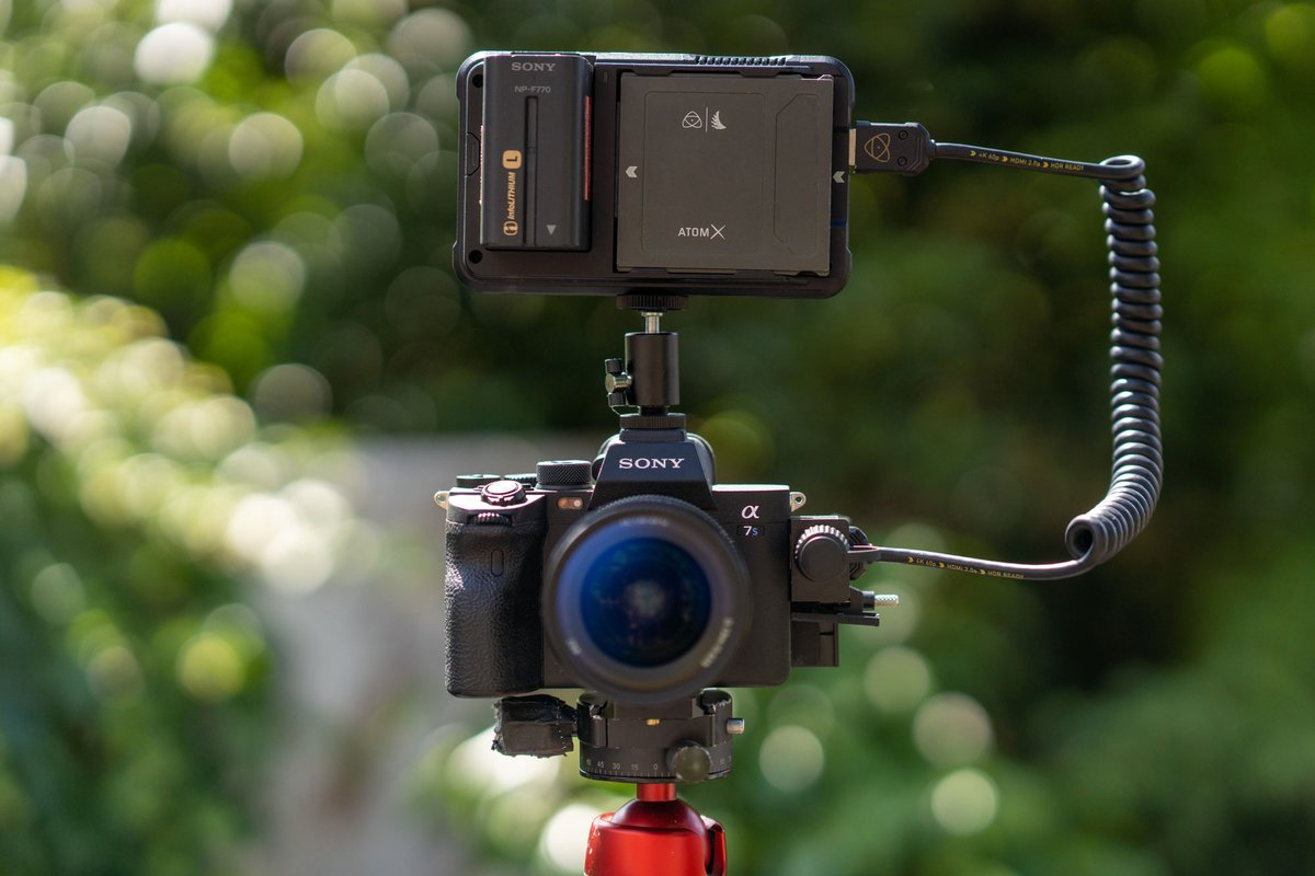 RT @AtomosGlobal: Announcement ?: Atomos to record 4Kp60 ProRes RAW over HDMI from @SonyAlpha 7S III to the Ninja V HDR monitor-recorder.…