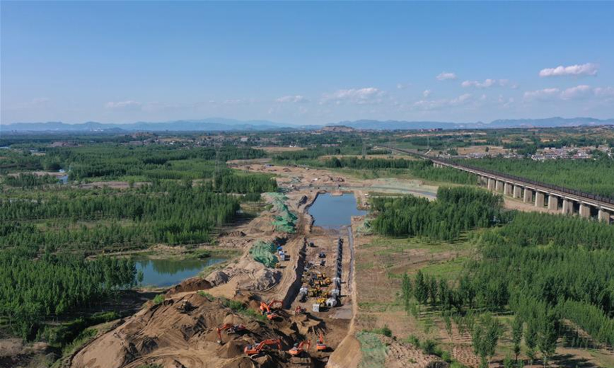 #China officially began the world's #largest #tunnel construction under a major river on Tuesday, kick starting the construction of the 1,509-km-long southern Chinese section of the #China-#Russia east-route natural gas pipeline.