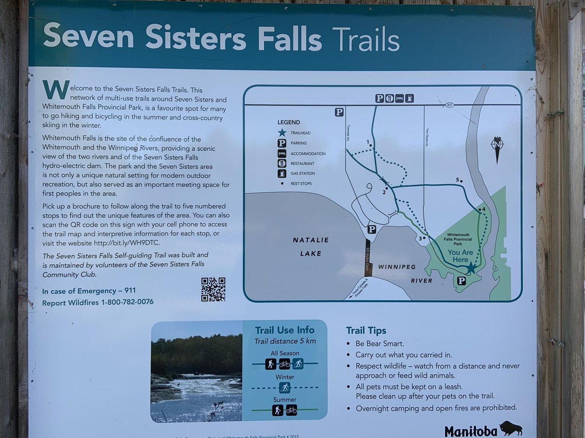 test Twitter Media - RT @WayneEwaskoMLA: #EasternMB #tourism #trails Beautiful evening in Seven Sisters at Whitemouth Falls PP! https://t.co/JrXSKn4me3