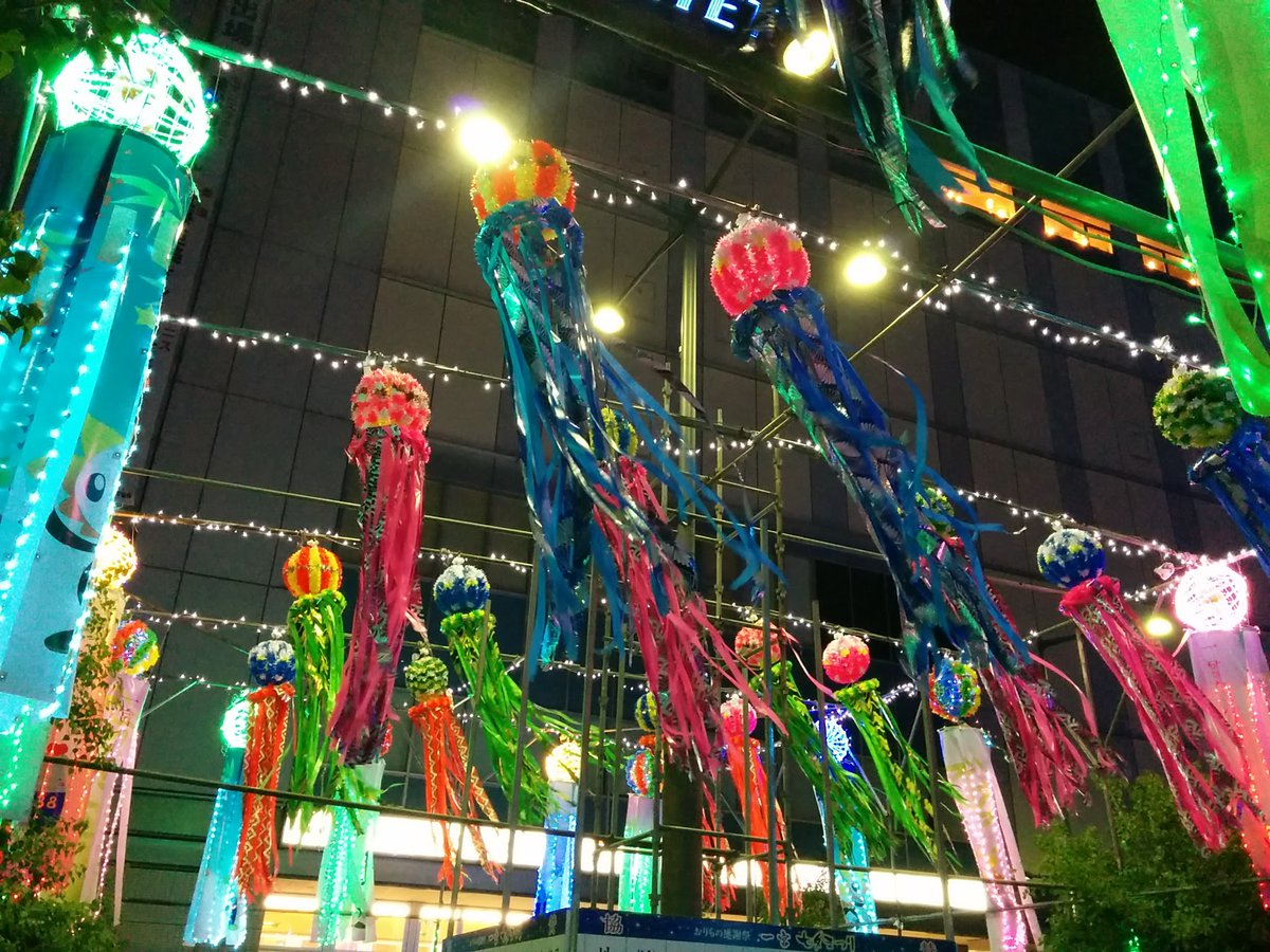 test ツイッターメディア - 2016/7/31 の一枚です。当地の七夕まつり、今年は中止です。  お祭りは、日本の豊かな四季を彩る風物詩だと思います。次年の再開に期待したいです。 https://t.co/XKqDizbvct