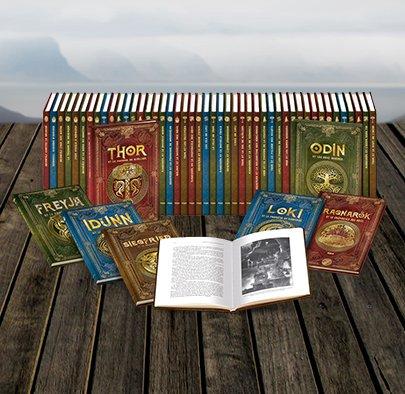 Nos partenaires, les Editions RBA, vous font gagner les 3 premiers volumes de leur collection de récits sur la mythologie nordique ! Pour jouer, Like+RT, les gagnants seront tirés au sort et contactés par MP.   Retrouvez Balder, Loki, Thor et Beowulf sur