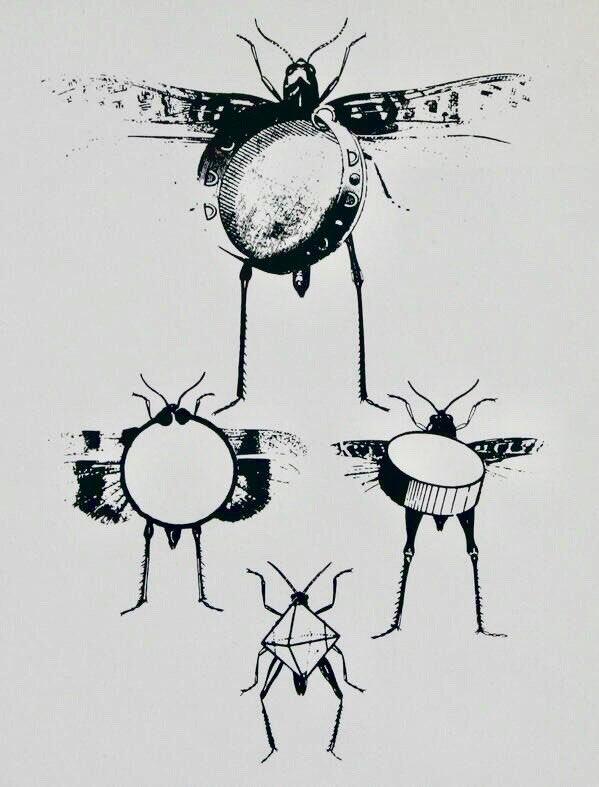 BEATLES (1969) by German artist, Max Ernst (1891-1976). https://t.co/EoZccDjb8J
