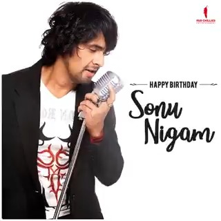 To the one whose magical voice touches our souls and makes us swoon.💃🏻  Happy Birthday, #SonuNigam! #HappyBirthdaySonuNigam