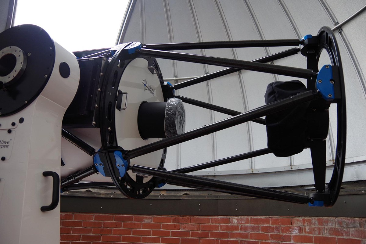test Twitter Media - With hopes of being fully operational by the fall semester, @WesAstro's new 24-inch PlaneWave CDK24 telescope system will help enhance student and faculty research, as well as public observation nights: https://t.co/CrnX6vogCw https://t.co/fnAGl26PEV