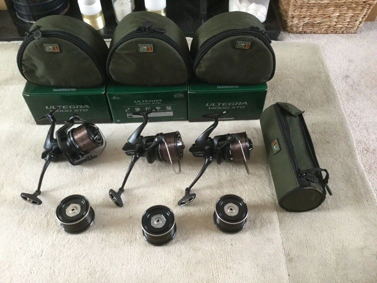 Ad - Set Of 3 Shimano Ultegra XT-D Reel ULT14000XTD On eBay here -->> https://t.co/1SxdPLeANf