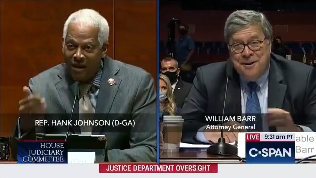 """We put together almost every time Democrats interrupted AG Bill Barr by """"reclaiming their time"""" as Barr was trying to answer their questions."""