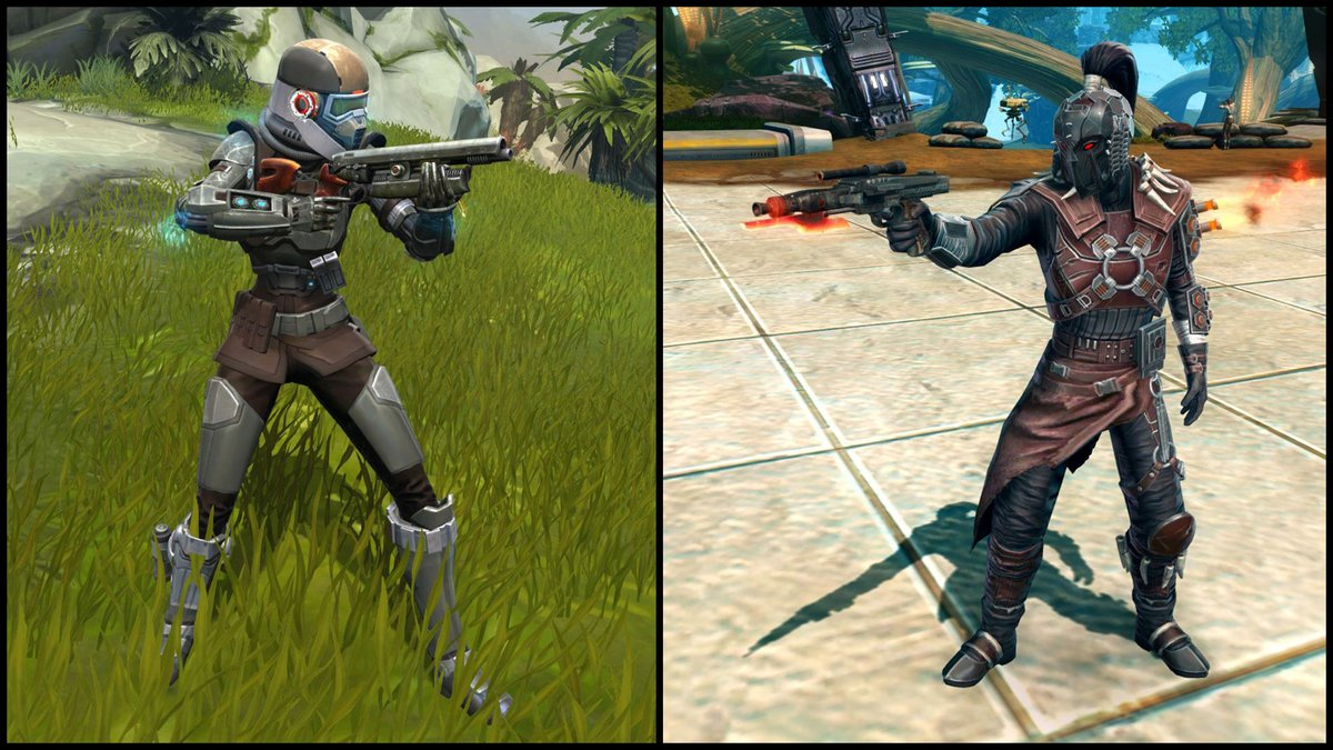 test Twitter Media - In SWTOR, we have all kinds of Blasters. Between Blaster rifles and Blaster Pistols which one suits you best? https://t.co/JIXH9sE8SO