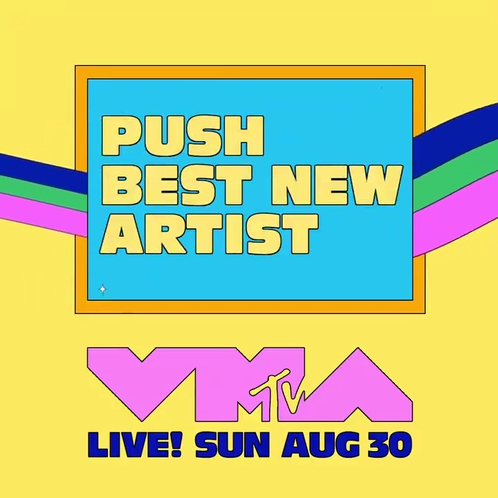 Vote NOW at  for who you want to win #MTVPush Best New Artist at this year's #VMAs! 🚀  ✨  @DojaCat ✨ @jackharlow ✨ @LewisCapaldi ✨ @RoddyRicch ✨ @tatemcrae ✨ @yungblud