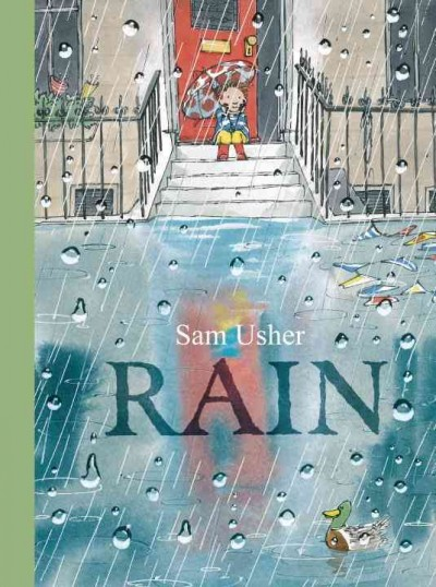 What does wet grass feel like between your toes? Go exploring next time it drizzles.      #FridayReads #SummerReading #BookBundles @NYPL