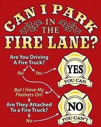 Leave us the room we need to work! During an incident such as a structure fire, seconds matter.
