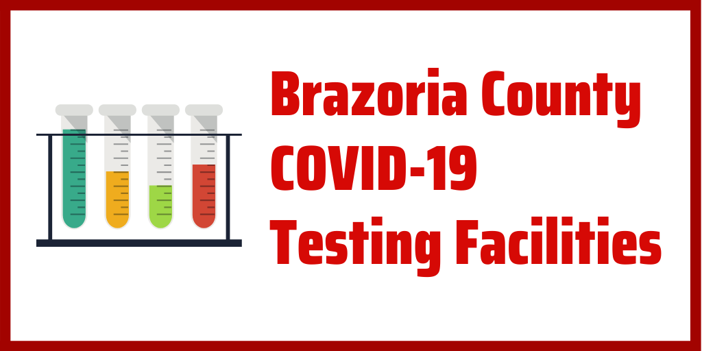 Here is the list of COVID-19 Testing Facilities in Brazoria County. Remember, you need to call ahead and make an appointment. #StaySafeBC #COVID19 #MaskUpBC