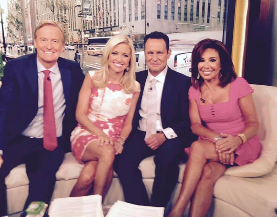 #ThrowbackThursday Fox and Friends 4 years ago