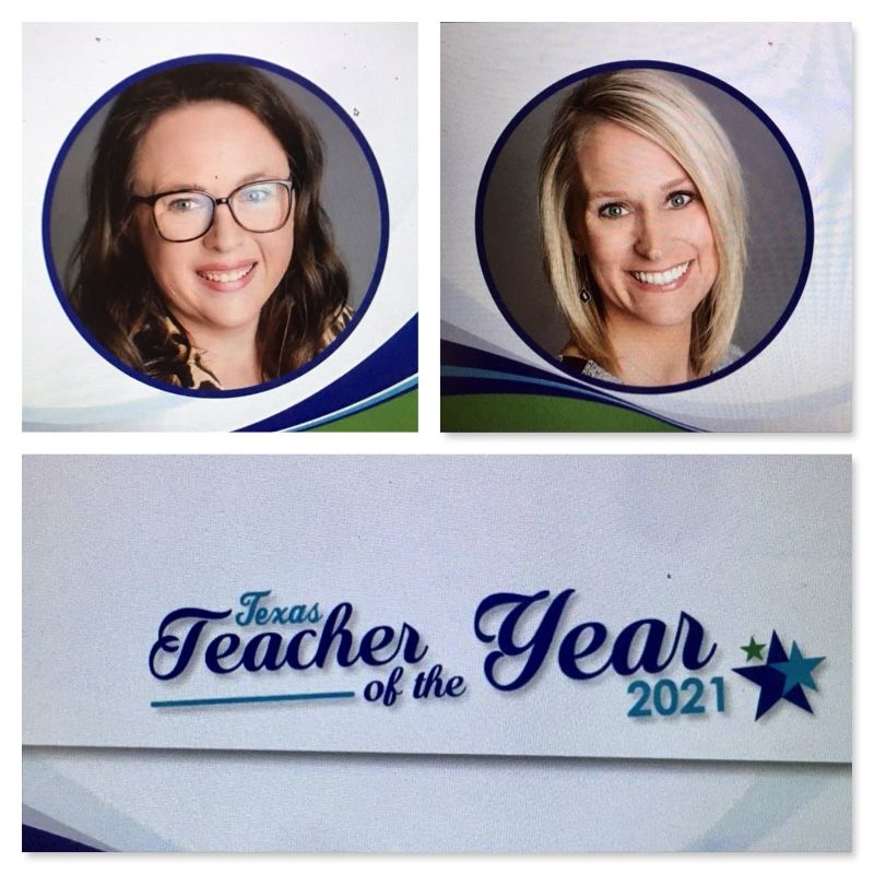Today, we joined in celebrating online more than 100 Teachers of the Year representing all the districts in Region 10. Stacey and Sarah are #1 in our ❤️! #ILoveRockwallISD #RockwallISDConnects