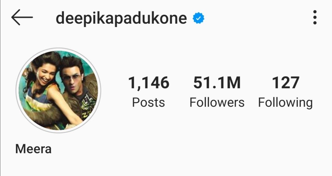 Loving your new icon @deepikapadukone!  Meera ❤️  #11YearsOfLoveAajKal