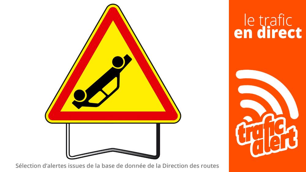 [LE TRAFIC EN DIRECT] 12:53 #A36 Accident / #Doubs (#Voillans). #infotrafic la sélection. +infos