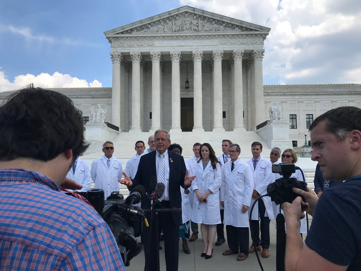 We brought togeather physicians from across the country who have successfully treated patients using hydroxychloroquine and we held a press conference on the steps of the Supreme Court.   Our message to the American people is clear. Hydroxychloroquine works.