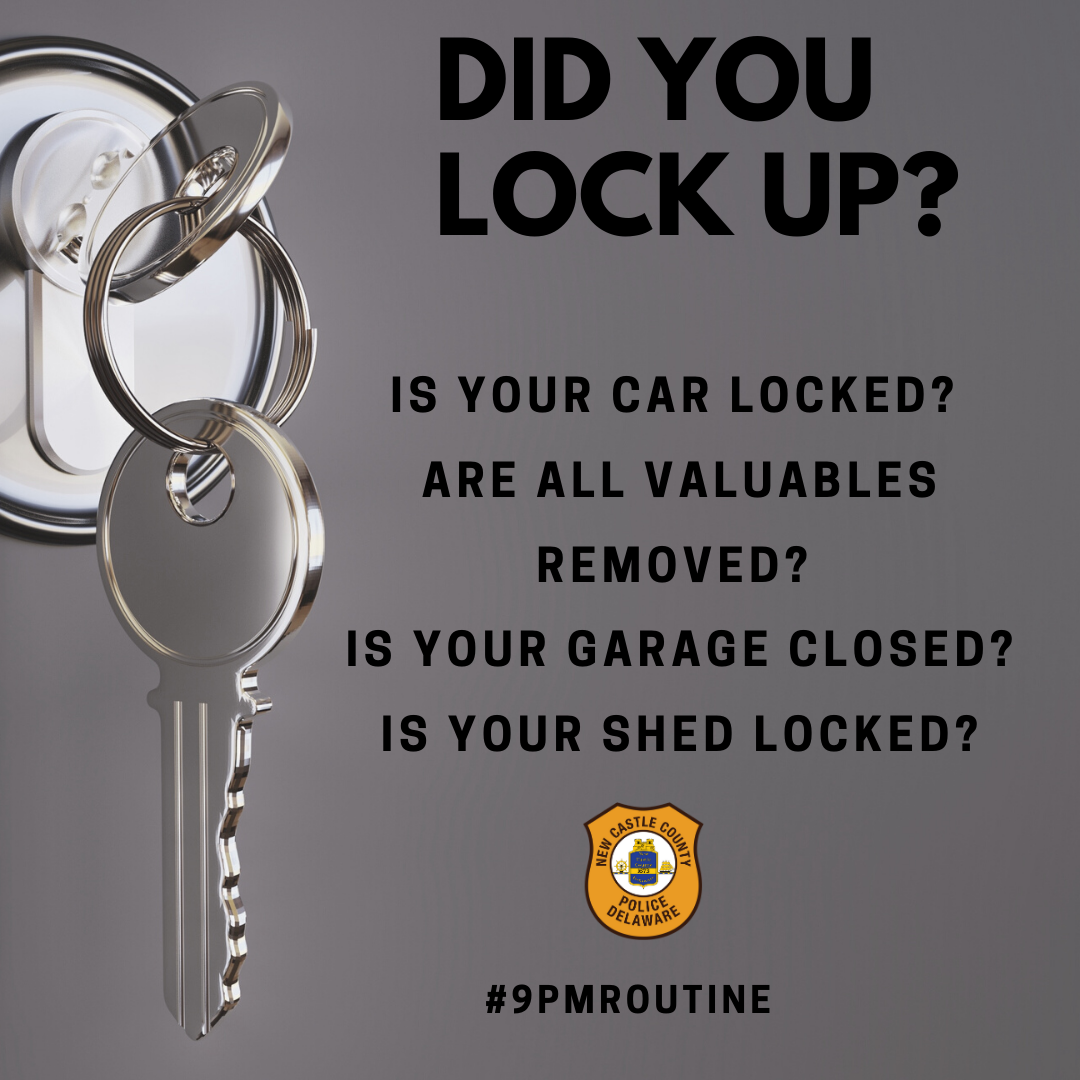 Time for the #9pmroutine Are you locked up?