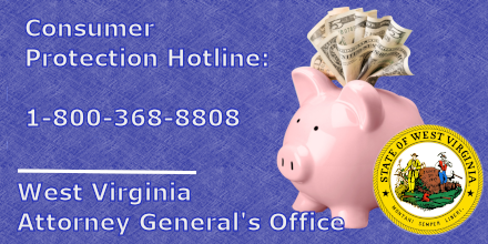 Communications complaints, automotive/motor vehicle issues and home repair and remodeling services ranked as the top consumer issues statewide in 2019.   Call the WV AG's Consumer Protection Hotline if you have issues with a business.