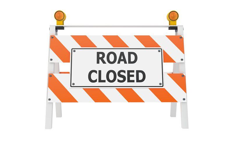 15th Street North Closed