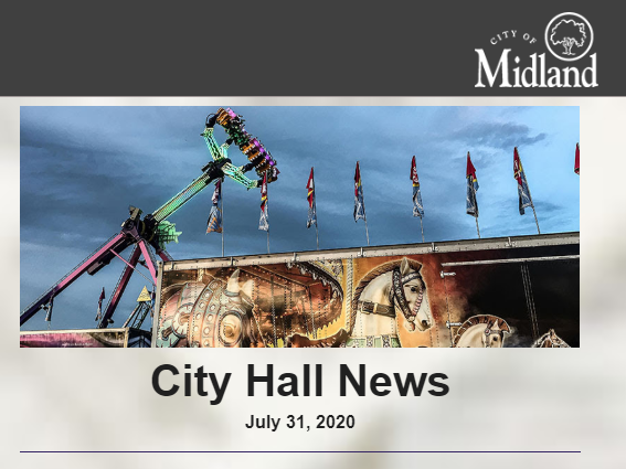 In this week's City Hall News: Street construction projects begin on Eastman, Mertz, & Virginia; @MidlandMIPolice urges residents to follow executive orders @ Plymouth Park; Wednesday's @MidlandParksRec Commission mtg agenda & more! Read >