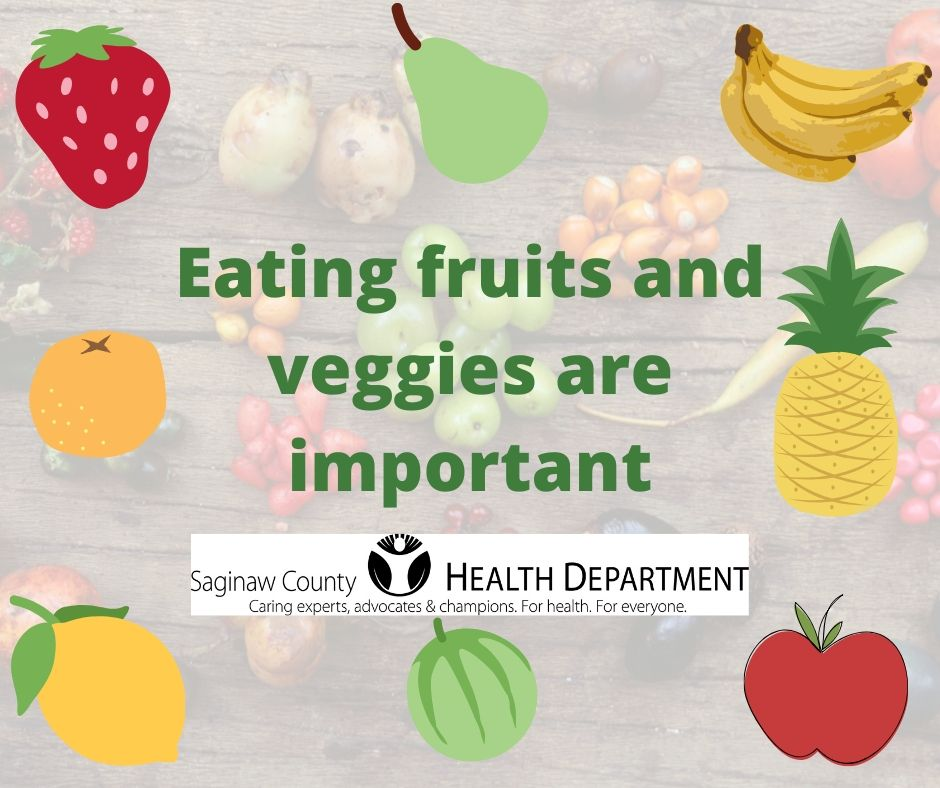 What are some of your favorite summer foods? Fruits and vegetables are loaded with vitamins that our bodies need.