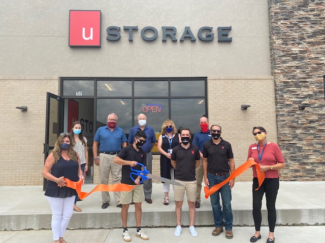This week we welcomed U Storage! They have over 300 new storage units, 24 hour access, temperature controlled and a fleet of moving trucks for rent along with all the boxes and moving supplies you may need. — #RibbonCutting #NewMember #BecauseBentonville