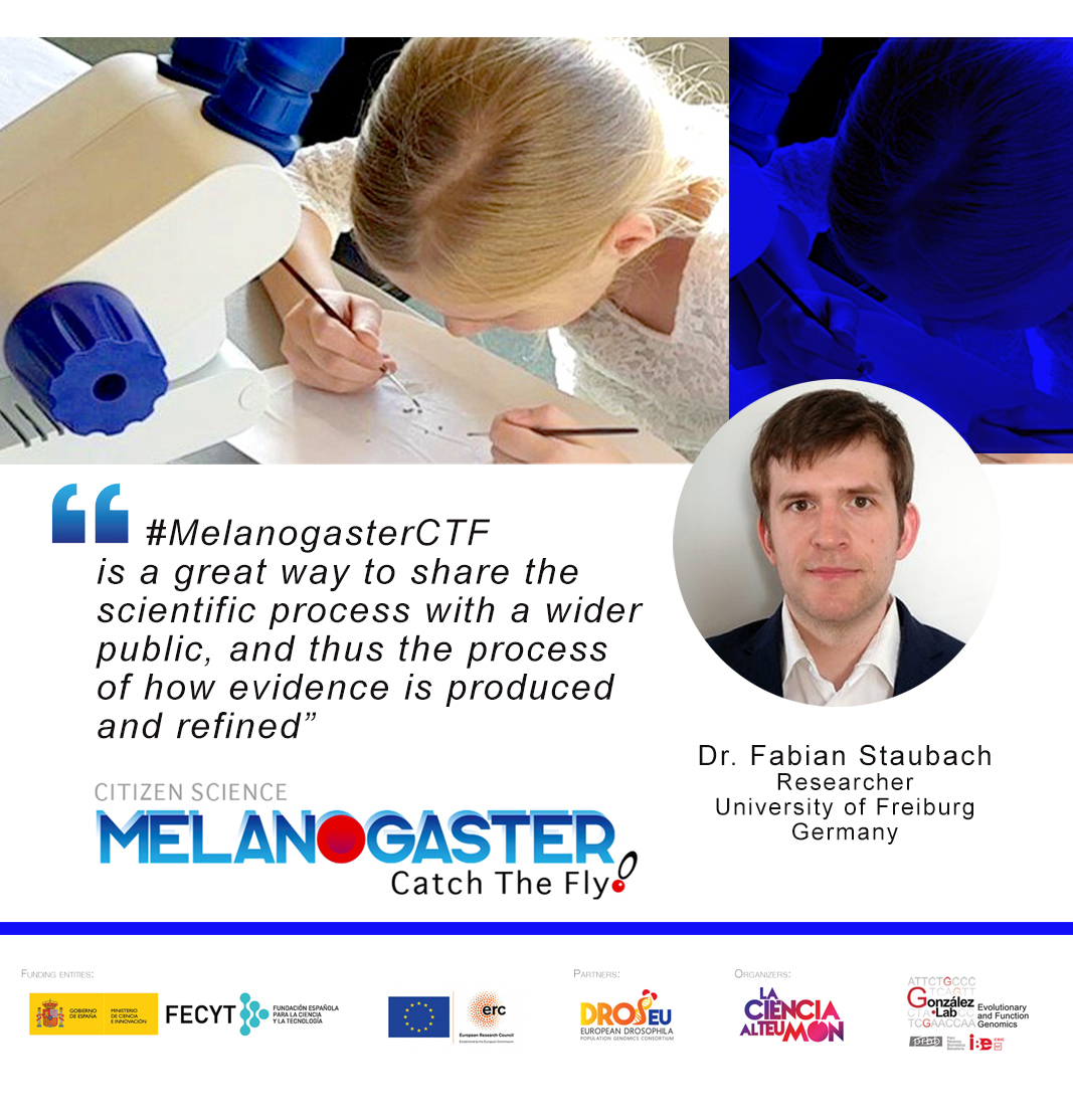 test Twitter Media - #Drosophila #MelanogasterCTF Our scientific partner Dr @FabianStaubach @UniFreiburg and @Dros_EU member shares his impressions about our #CitizenScience project https://t.co/TW6vj2ocVj https://t.co/bWlyq7gveh